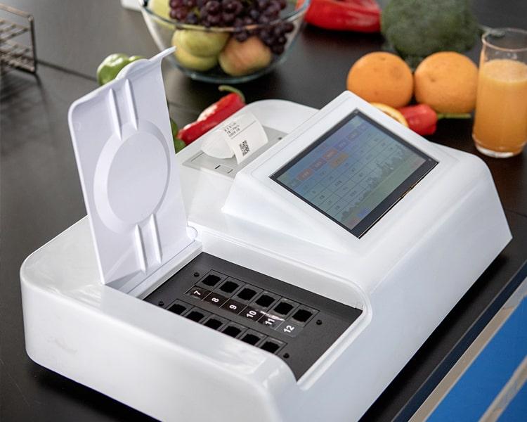 家庭食用产品快速检测方案